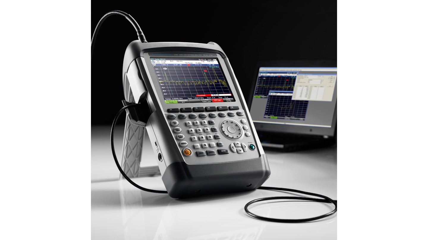 ZVH handheld spectrum analyzer