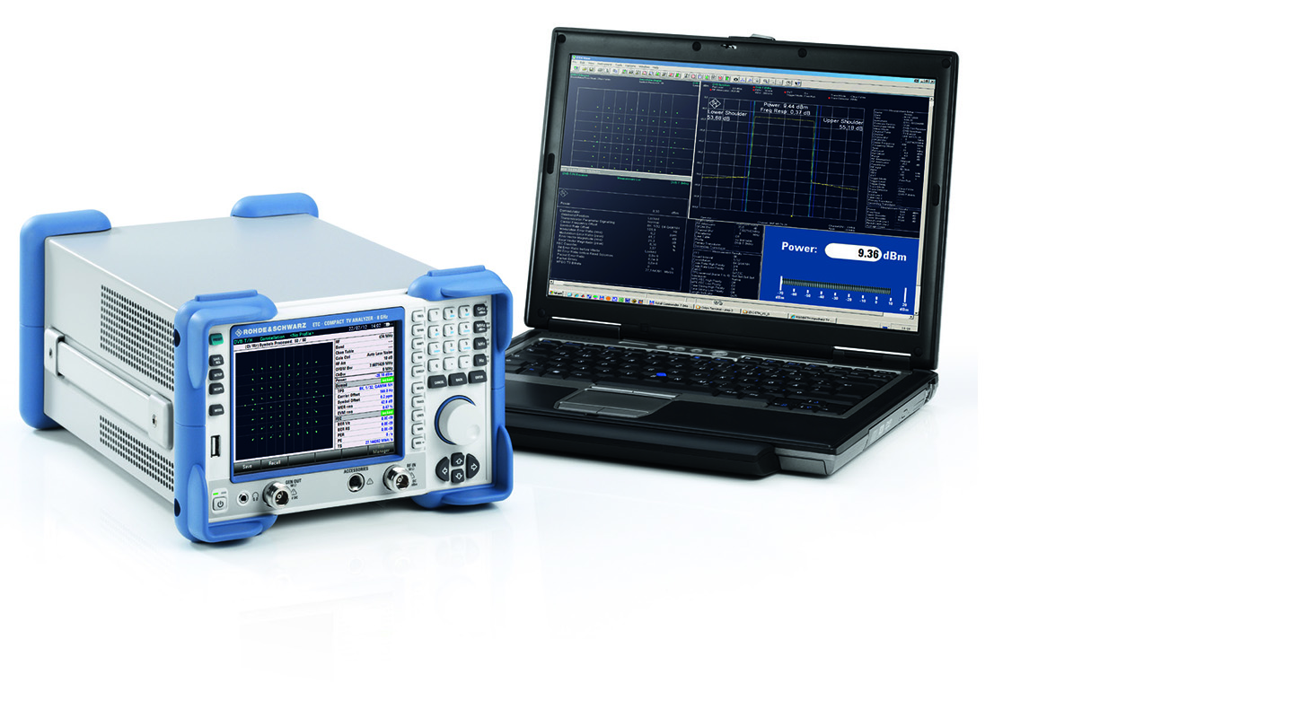 R&S®ETC compact TV analyzer