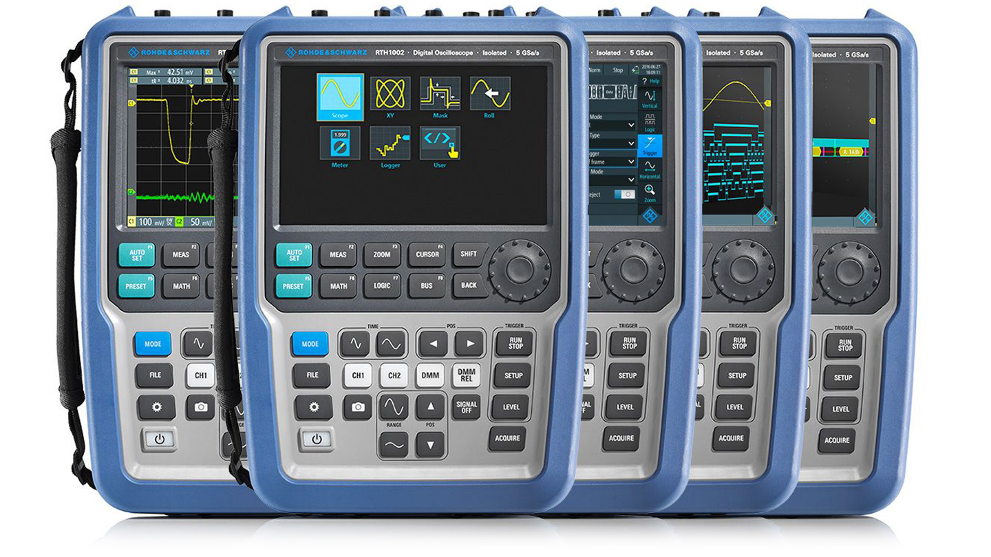 R&S ® Scope Rider Handheld Oscilloscope