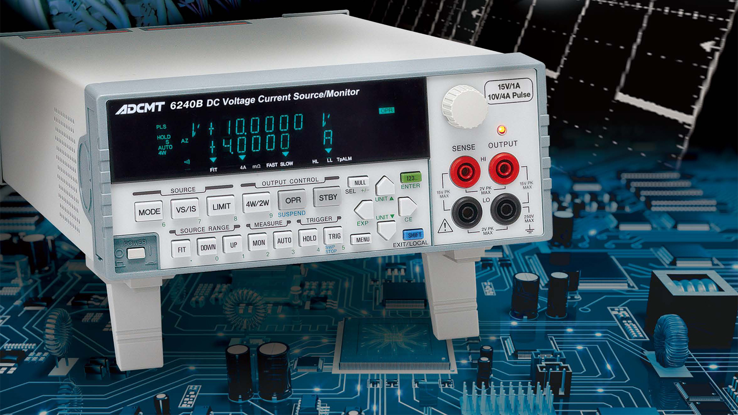6240B DC voltage/current source/monitor