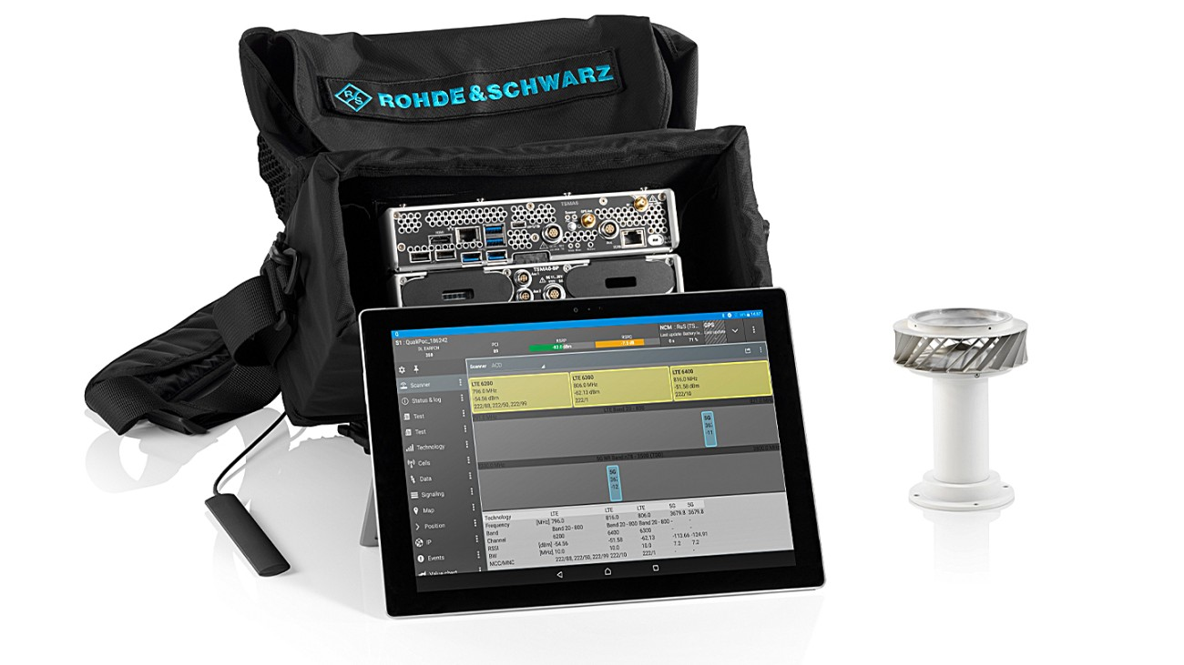 R&S®5G site testing solution