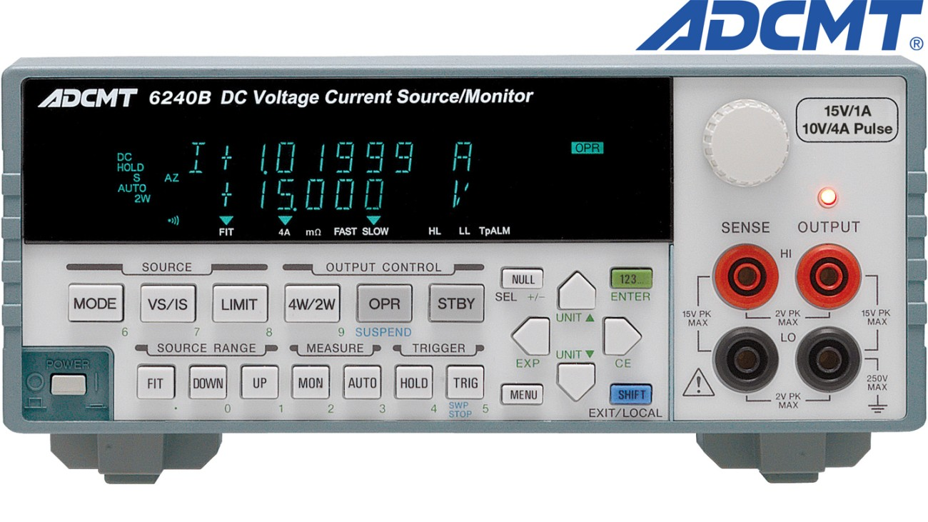6240B DC Voltage current source/monitor