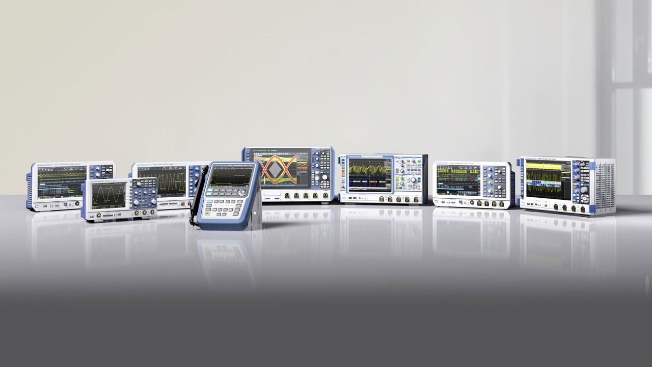 Oscilloscopes promotion