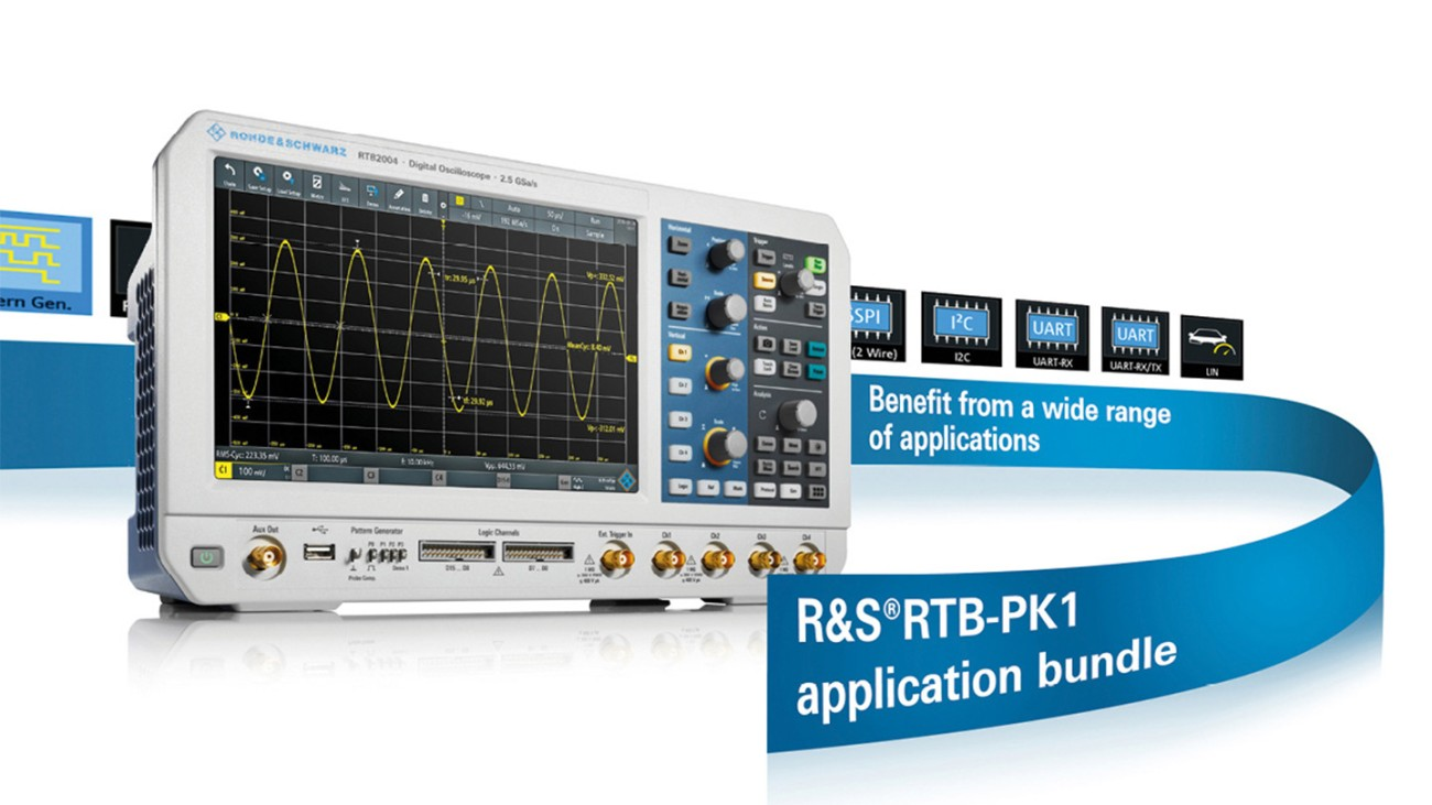 Oscilloscope Application Bundle RTB-PK1