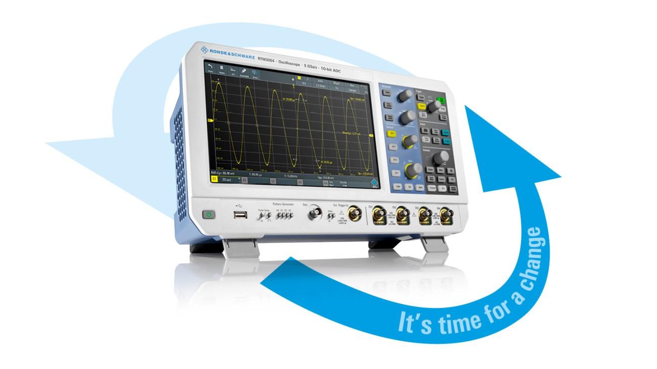 Oscilloscopes RTM RTA promo