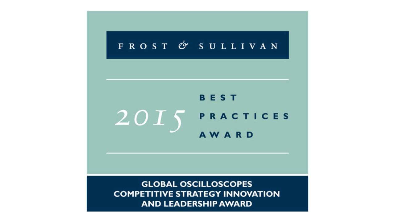 Frost & Sullivan Best Practice Award 2015