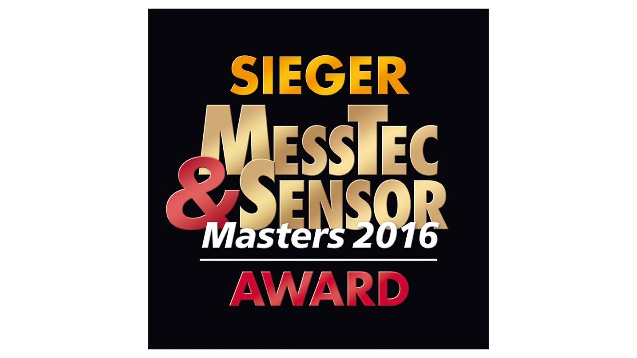 Messtec & Sensors Master 2016 Award