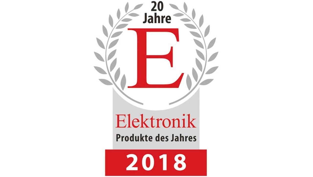 Produit de l'année 2018 par la revue Elektronik