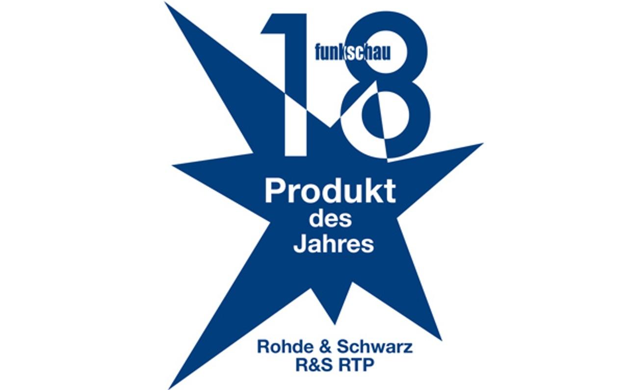 Funkschau 2018 - Produkt des Jahres (Produit de l'année)