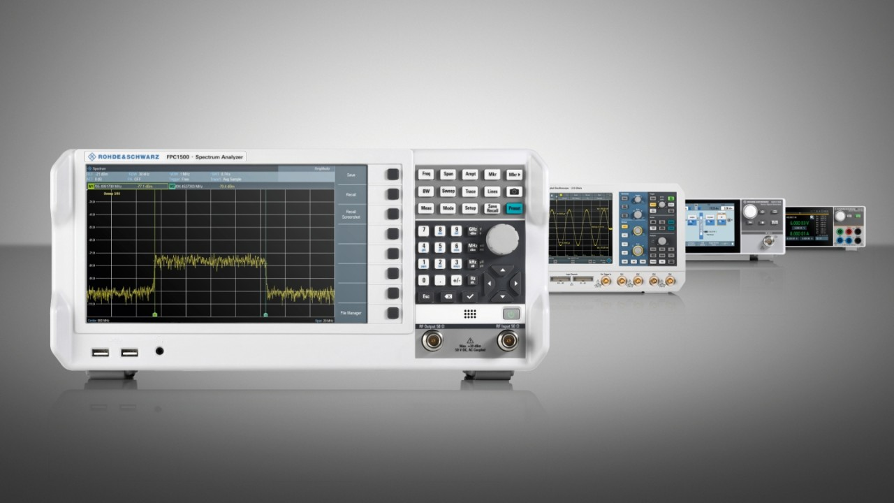 Spectrum & Vector network analyzers promotion
