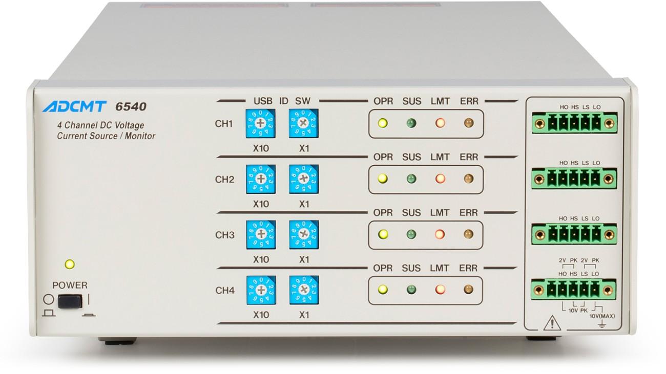 6540 displayless 4-channel DC generator/monitor