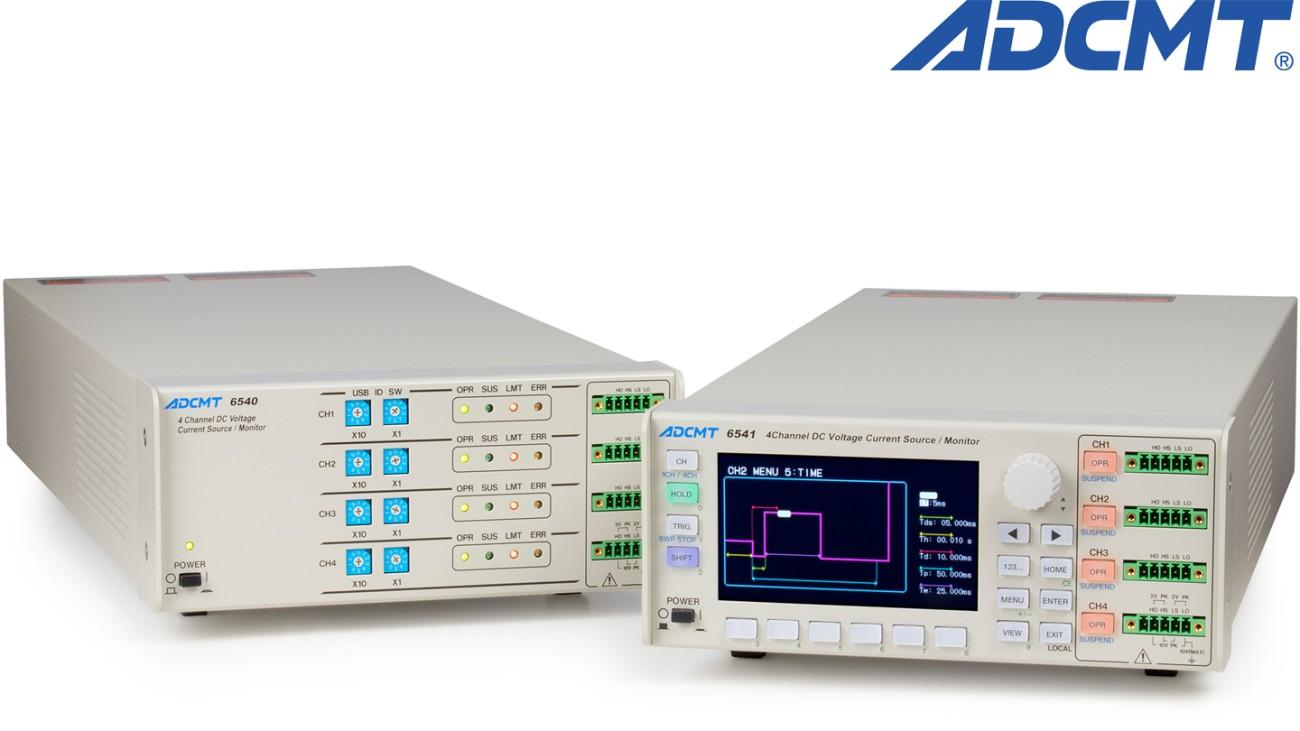 6541/6540 4-channel DC generator/monitor
