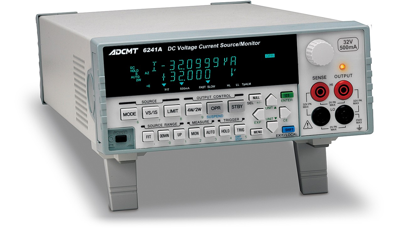 6241A DC Voltage current source/monitor
