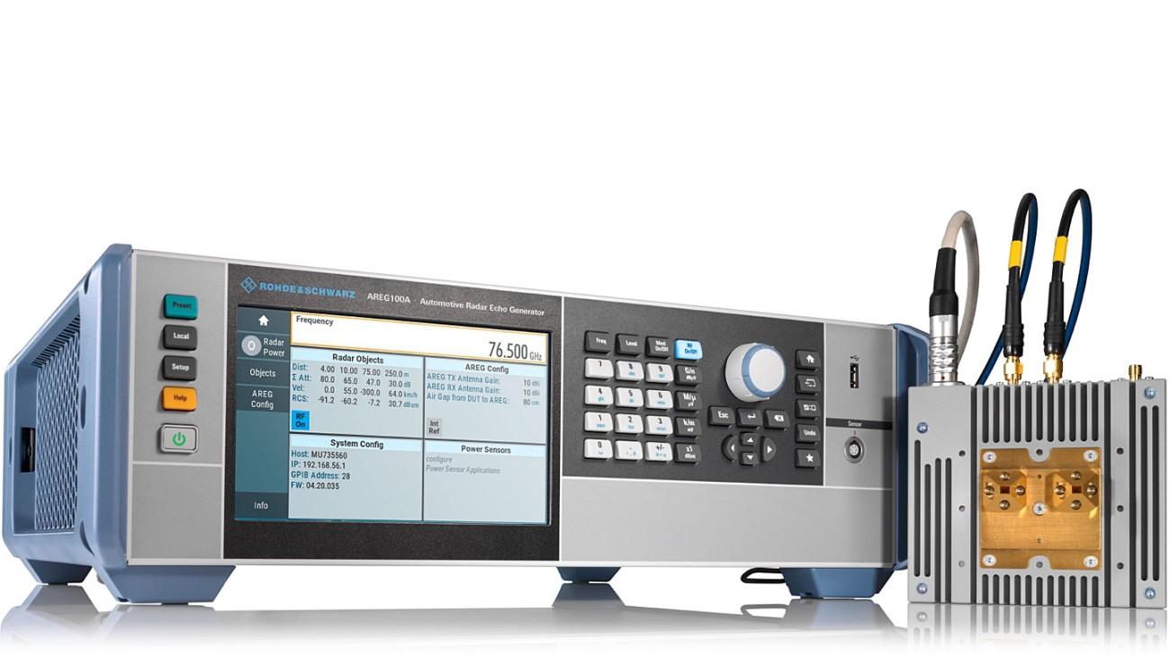 R&S®AREG100A Automotive radar echo generator