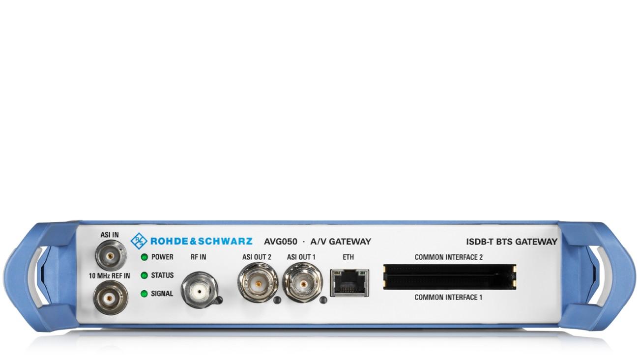 R&S®AVG050 ISDB-T BTS Gateway