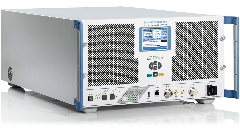 Rsbba100 Broadband Amplifier Overview Rohde Schwarz 300w Fm Rf Circuit P Marian Amplifiers