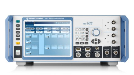 R&S®BTC Broadcast Test Center