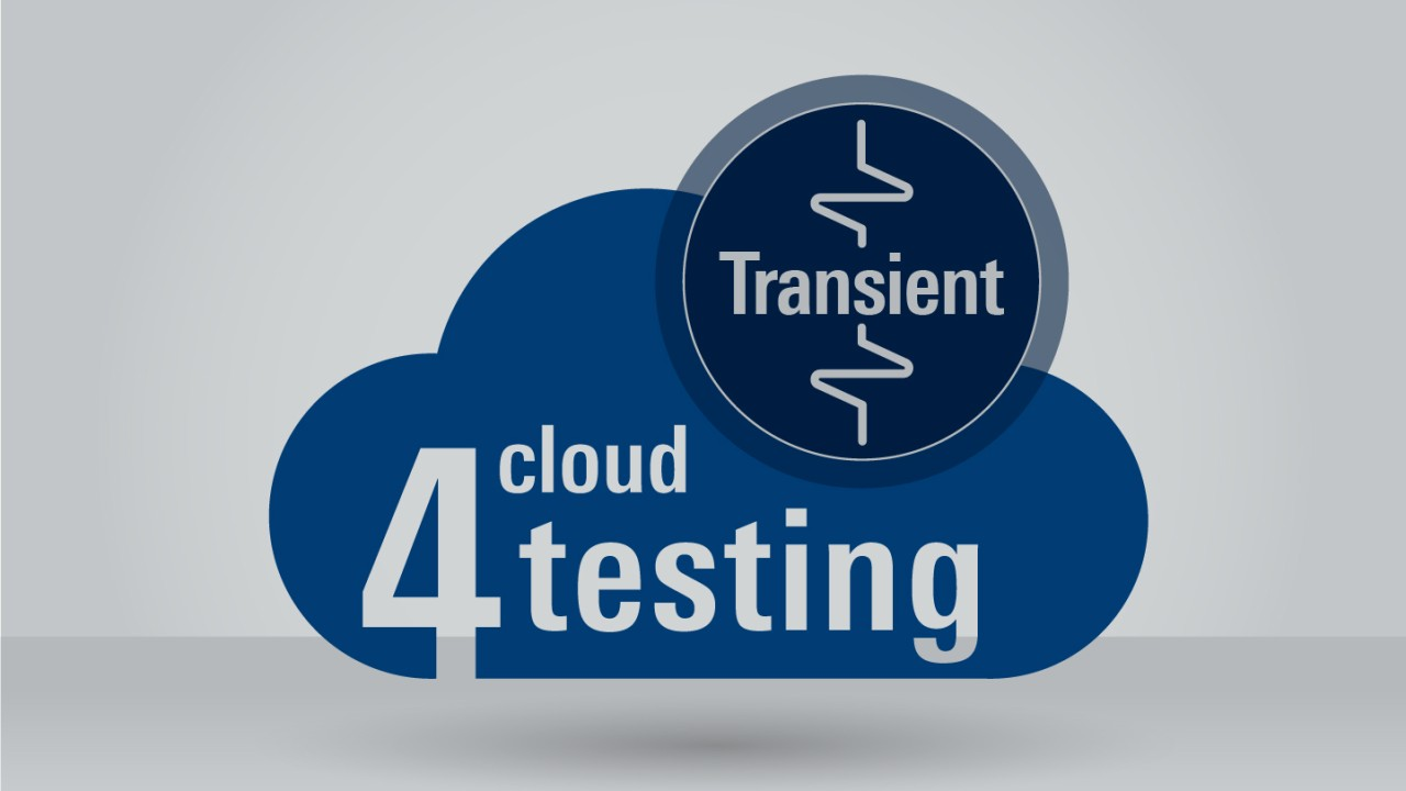 R&S®Cloud4Testing: Transient analysis application package