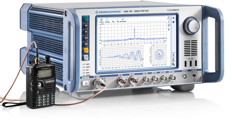 R&S®CMA180 Radio Test Set   Overview   Rohde & Schwarz