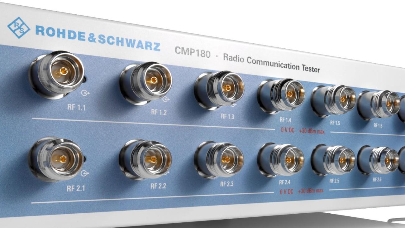 R&S®CMP180 radio communication tester