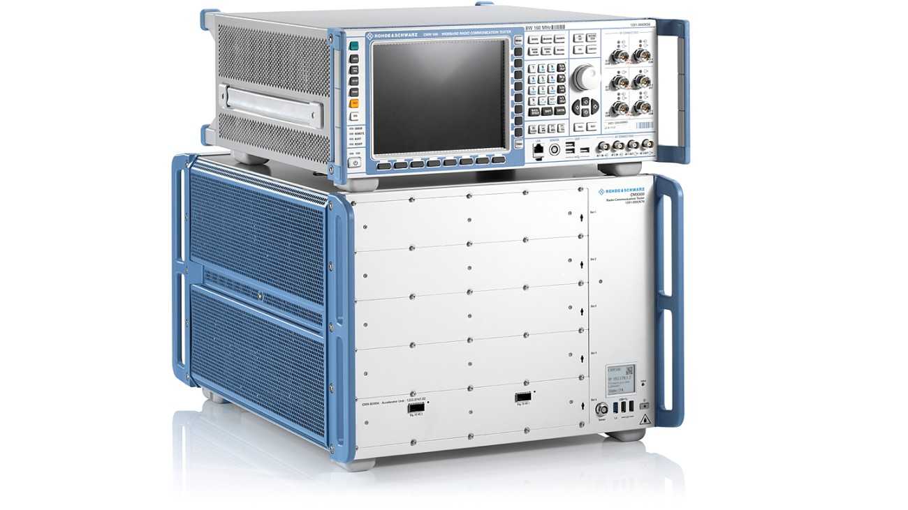 R&S®CMX500 Radio Communication Tester