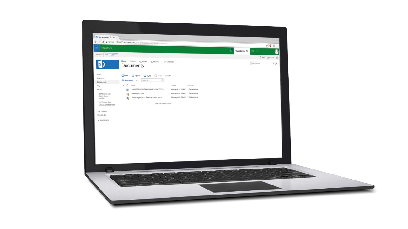 R&S® TrustedGate SharePoint™ Encryption