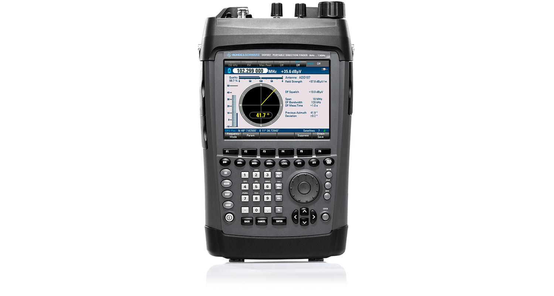 R&S®DDF007 Portable Direction Finder   Overview   Rohde & Schwarz