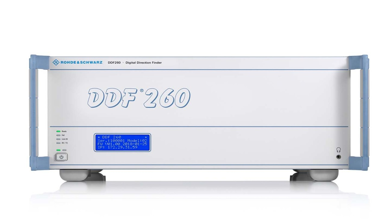 R&S®DDF260 digital direction finder