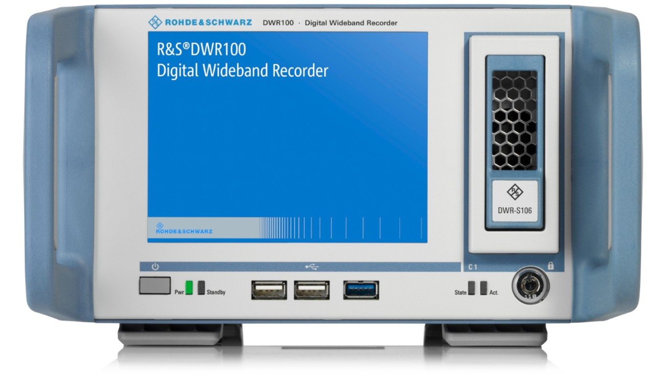 R&S®DWR100 Digital wideband recorder
