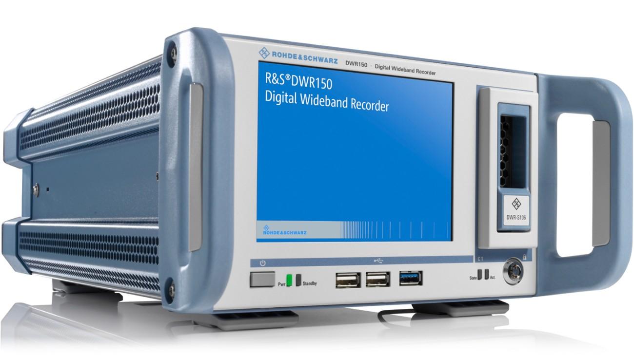 R&S®DWR150 Digital wideband recorder