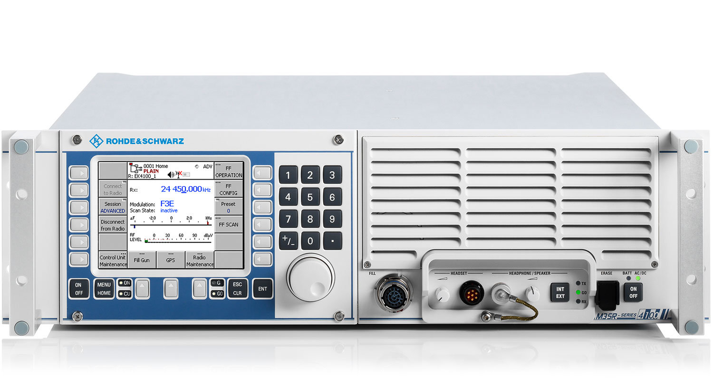 R&S®EK4100A/R&S®EK4100D VLF-HF receiver   Overview   Rohde & Schwarz