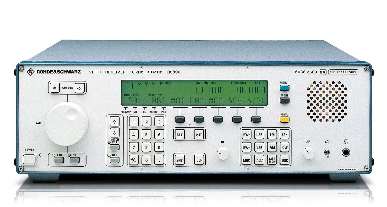 R&S®EK896 VLF-HF Receiver   Overview   Rohde & Schwarz