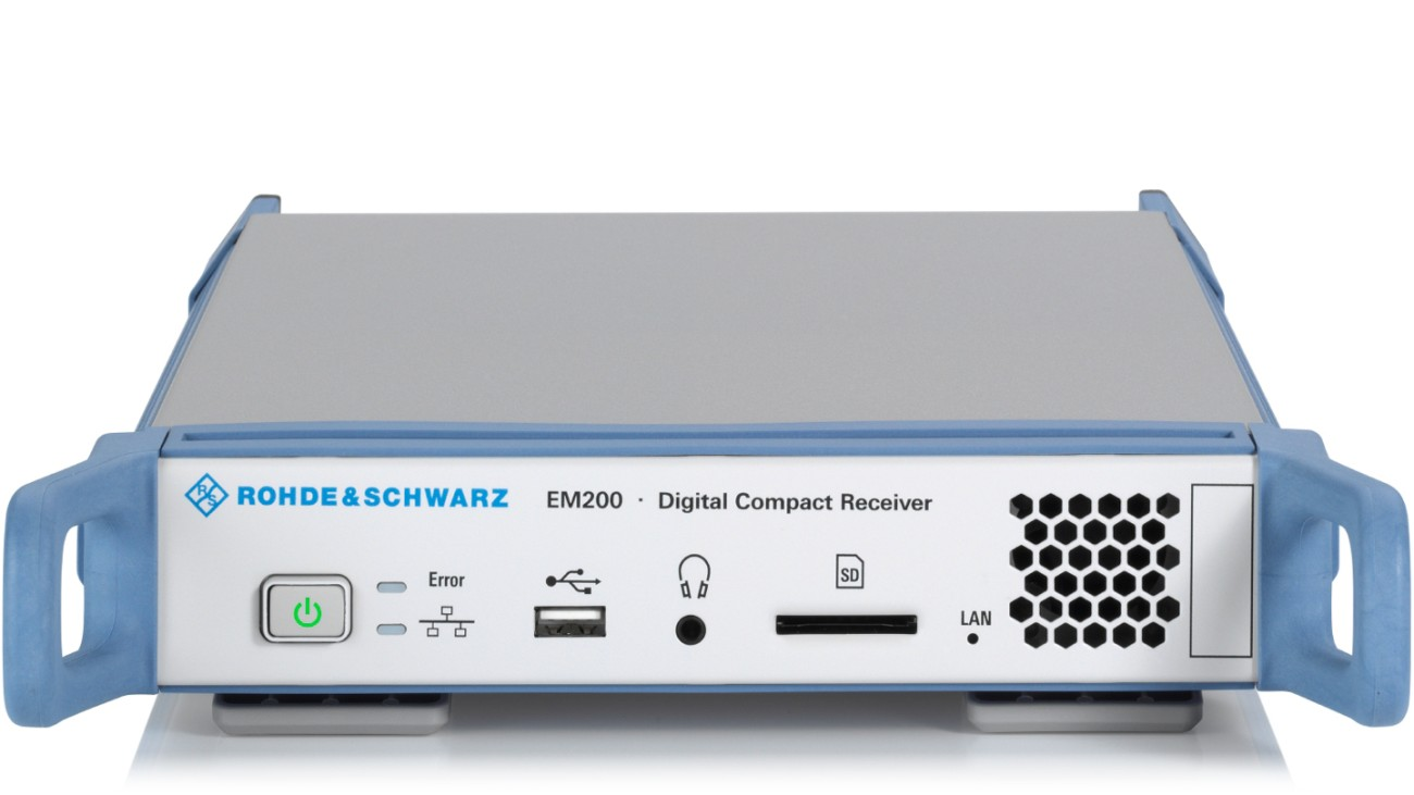 R&S®EM200 digital compact receiver