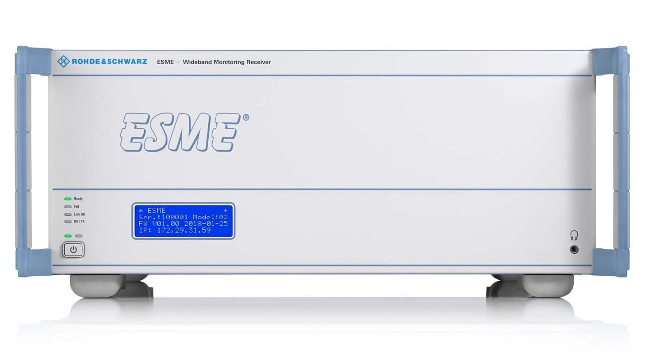 R&S®ESME Wideband Monitoring Receiver