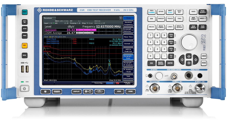 R&S®ESR EMI Test Receiver   Übersicht   Rohde & Schwarz