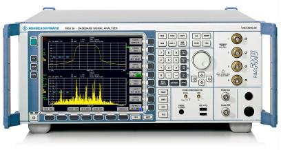 R&S®FMU36 Baseband Analyzer | Overview | Rohde & Schwarz