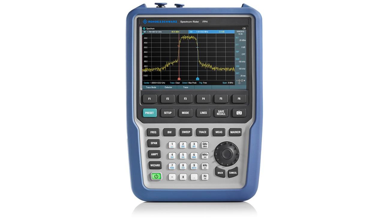 R&S®Spectrum Rider FPH handheld spectrum analzyer