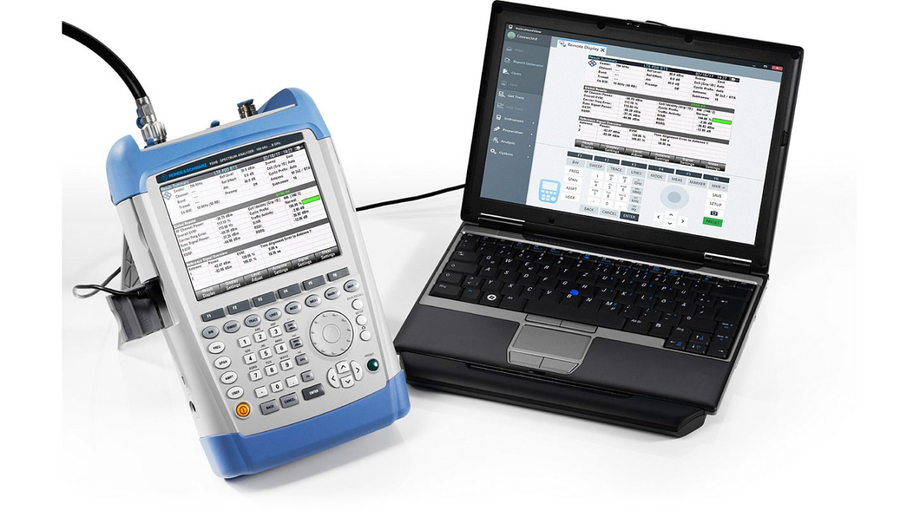 R&S®FSH handheld spectrum analyzer