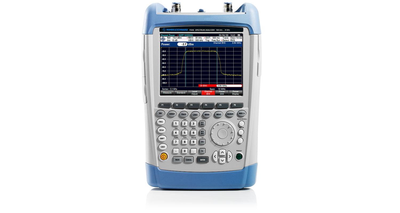 R&S®FSH Handheld Spectrum Analyzer | Overview | Rohde & Schwarz