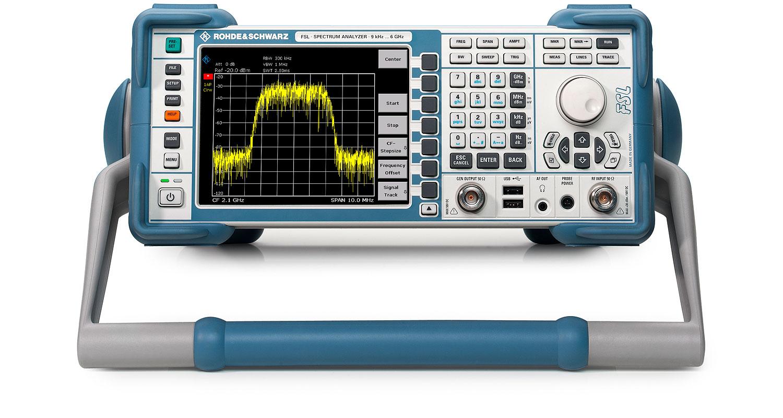 R&S®FSL Spectrum Analyzer | Overview | Rohde & Schwarz