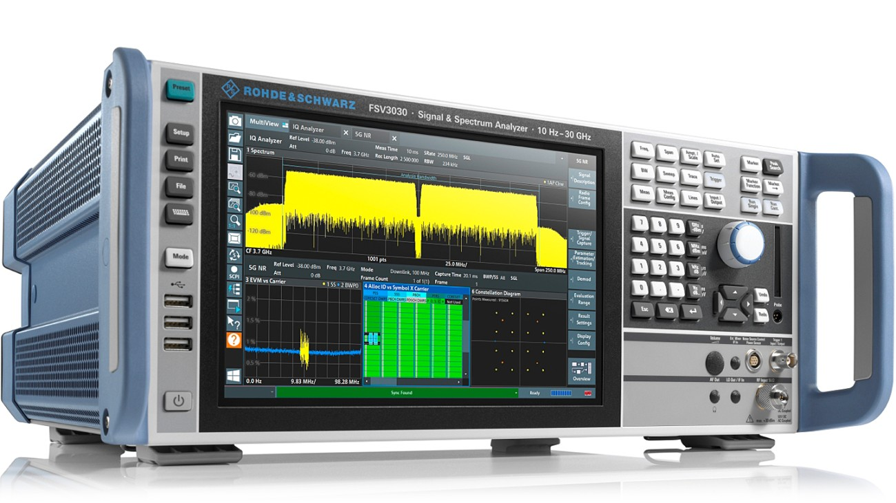 R&S®FSV3030 signal and spectrum analyzer