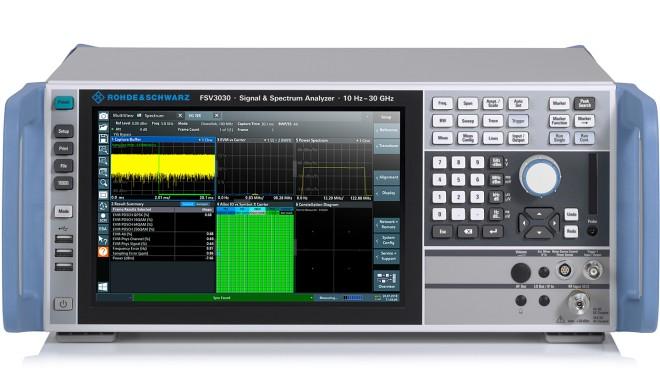 Внешний вид анализатора спектра и сигналов FSV3000