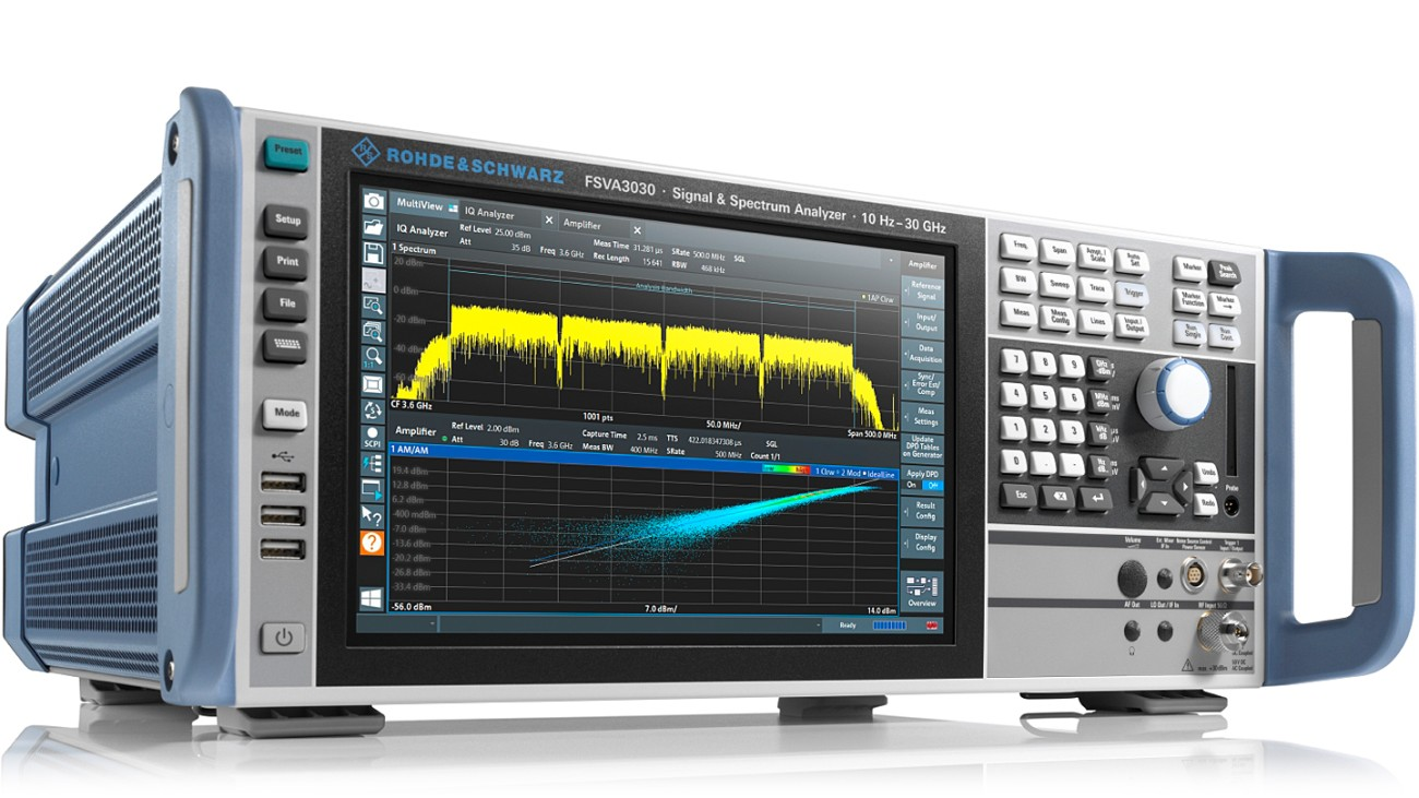 R&S®FSVA3030 signal and spectrum analyzer