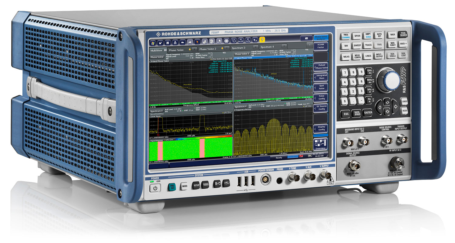 R&S®FSWP Phase Noise Analyzer and VCO Tester   Overview   Rohde & Schwarz