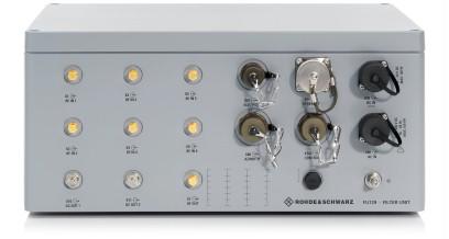 R&S®FU129 Antenna Filter Unit | Overview | Rohde & Schwarz