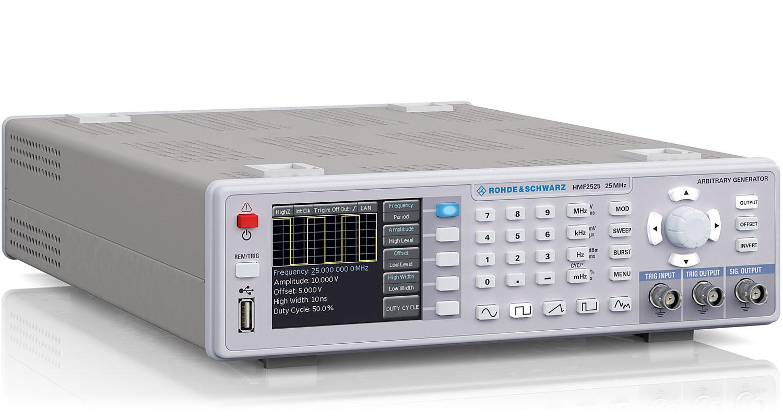 Hmf2525 Hmf2550 Arbitrary Function Generator Overview Rohde Generators Schwarz