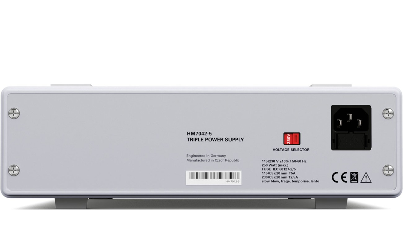 R&S®HM7042 Triple Power Supply