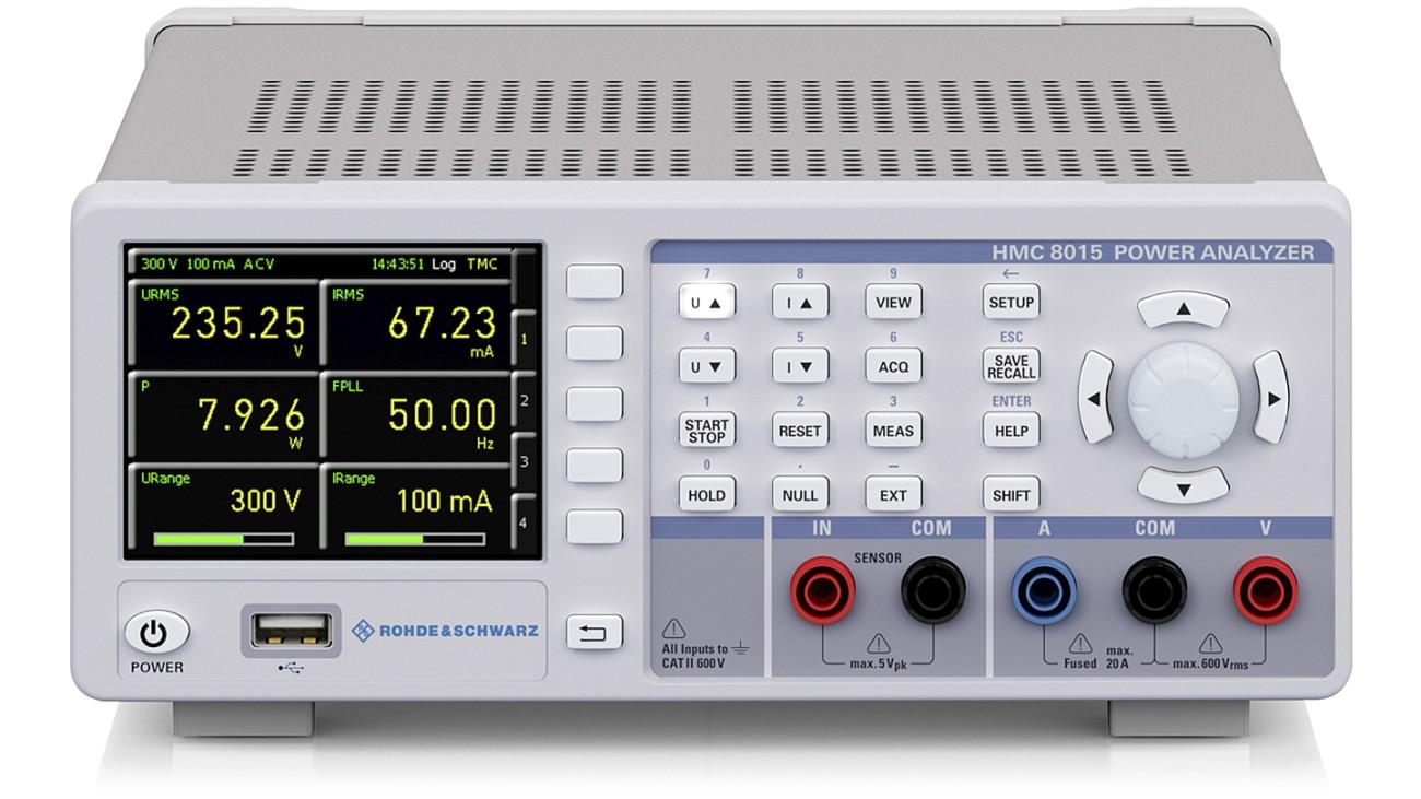 R&S®HMC8015 Power analyzer | Rohde & Schwarz