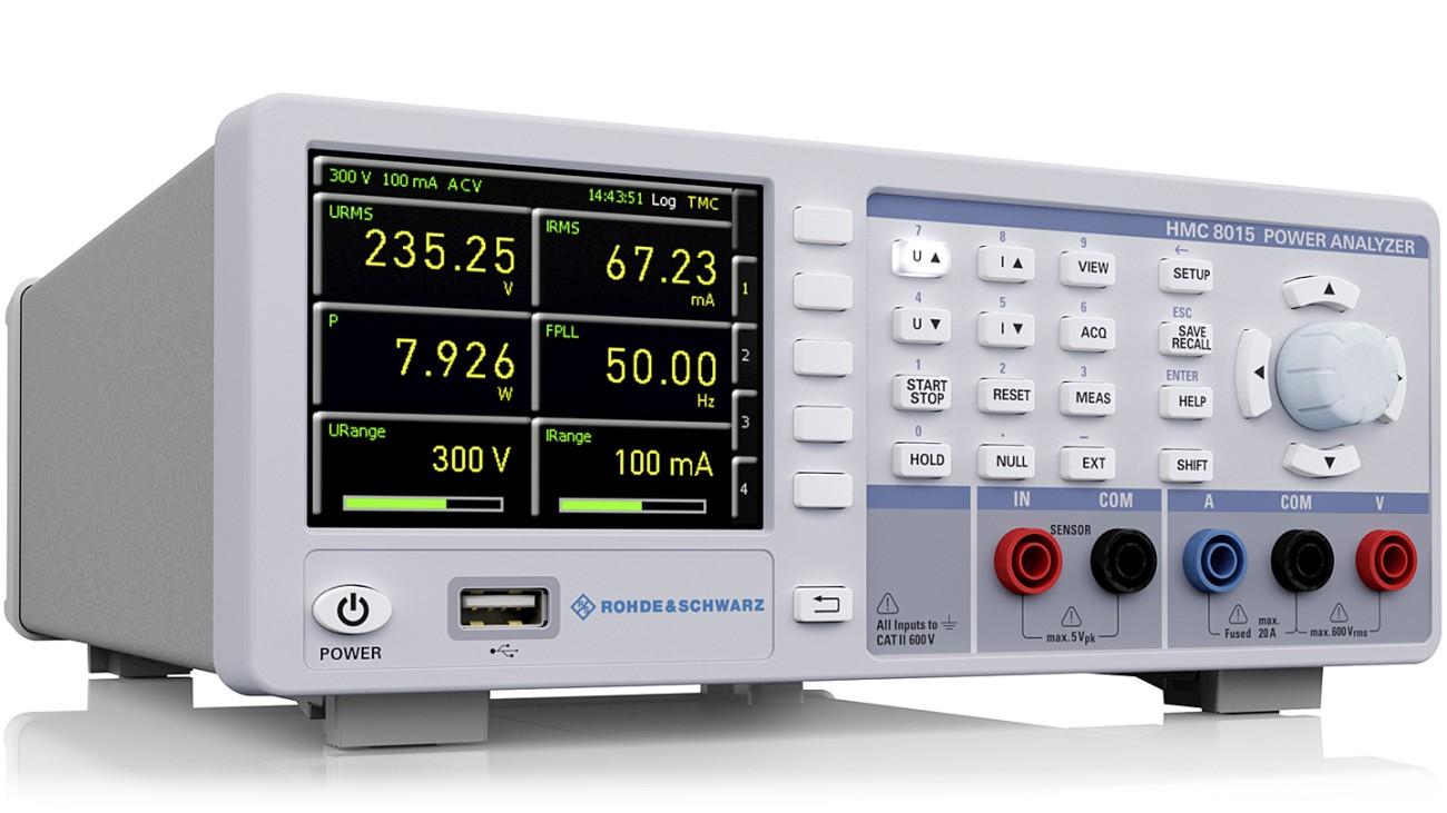 R&S®HMC8015 All-in-one Power Analyzer