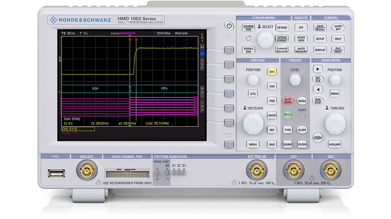 HMO1002 Digital Oscilloscope